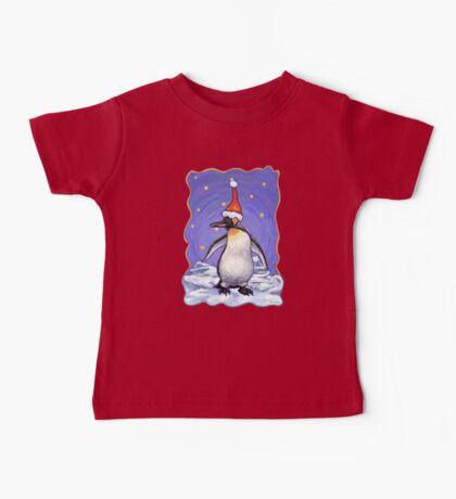 Penguin Christmas Baby Tee