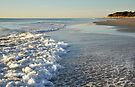 Froth and Bubble - Woorim Beach by Barbara Burkhardt