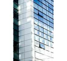 business office glass building  Photographic Print