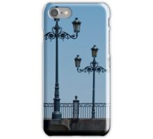 Lamps on the Triana Bridge, Seville iPhone Case/Skin