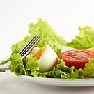 Green Leafy Salad by Anaa