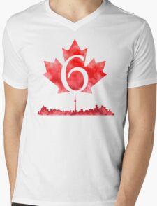 Toronto 6 Mens V-Neck T-Shirt