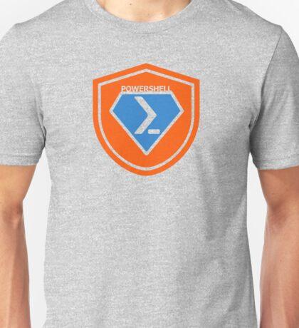 PowerShell Emblem - Orange Unisex T-Shirt