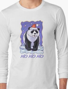 Panda Bear Christmas Card T-Shirt