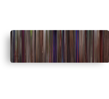 Moviebarcode: This Is Spinal Tap (1984) Canvas Print