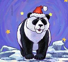 Panda Bear Christmas by ImagineThatNYC