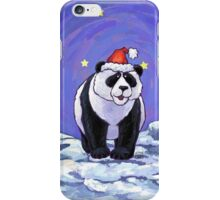 Panda Bear Christmas iPhone Case/Skin