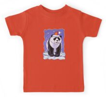Panda Bear Christmas Kids Tee