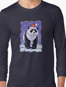 Panda Bear Christmas Long Sleeve T-Shirt