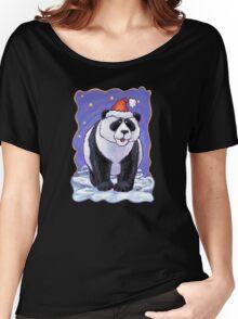 Panda Bear Christmas Women's Relaxed Fit T-Shirt