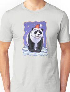 Panda Bear Christmas Unisex T-Shirt