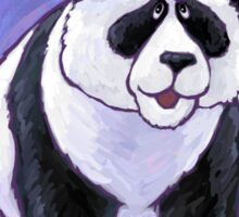Panda Bear Christmas Sticker