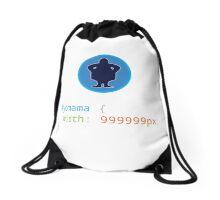 CSS Pun - Yo mama Drawstring Bag