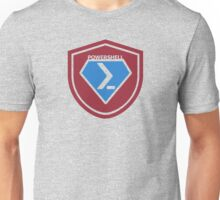 PowerShell Emblem - Red Unisex T-Shirt