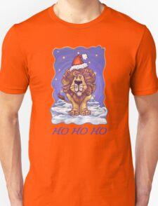 Lion Christmas Card Unisex T-Shirt