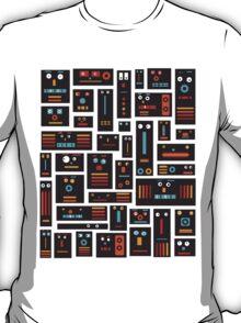 Crazy Robot Friends T-Shirt
