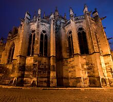 Nevers Cathedral France by Marc Garrido Clotet