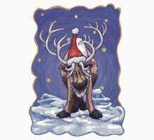 Reindeer Christmas Kids Tee