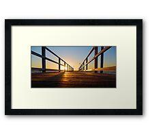 Lake Macquarie Framed Print
