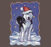 Husky Christmas Baby Tee