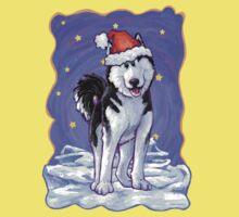 Husky Christmas One Piece - Short Sleeve