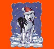 Husky Christmas Kids Tee