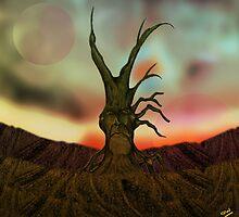 Wood Stump Creature by Grant Wilson
