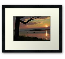 Swansea Framed Print