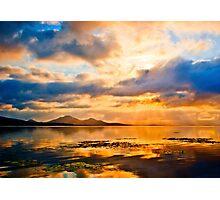 Sunrise over Ross Dam Photographic Print