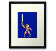 Little He Man Framed Print