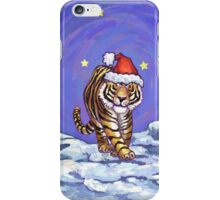 Tiger Christmas iPhone Case/Skin