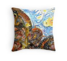 Homage to Leibnitz Throw Pillow