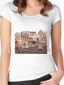 Moonlight Homes Women's Fitted Scoop T-Shirt