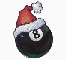 8 Ball Christmas One Piece - Short Sleeve