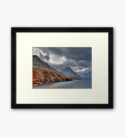 Wast Water - Lake District Framed Print
