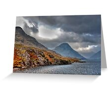 Wast Water - Lake District Greeting Card