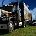 1973 Kenworth W900A &quot;Smokey and the Bandit&quot; Tribute by TeeMack