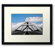 Third Millennium bridge Framed Print