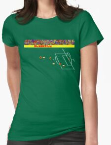 Football Manager Womens Fitted T-Shirt