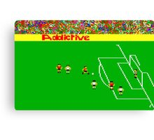 Football Manager Canvas Print
