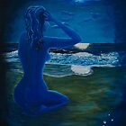 Girl At The Shore by Barbie Hardrock