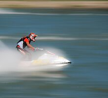 Racing Jetski by Dan Lauf