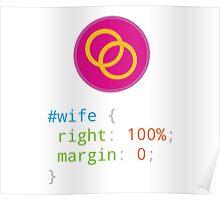 CSS Pun - Wife Poster