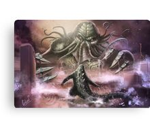 Cthulhu / Godzilla Canvas Print