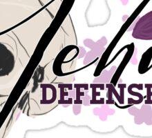Jehan Defense Squad Sticker