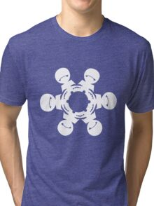 Marvin the Paranoid Android Snowflake Tri-blend T-Shirt