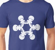 Marvin the Paranoid Android Snowflake Unisex T-Shirt