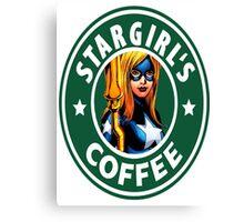 Stargirl's Coffee  Canvas Print