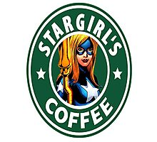 Stargirl's Coffee  Photographic Print
