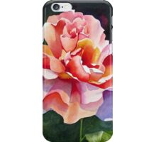 """Just Joey"" Rose Watercolor iPhone Case/Skin"